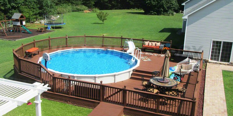 Superb Above Ground Pool Installation In New Bern By The Best Swimming Pool  Installers