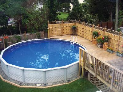 Above Ground Pool Installation Services Above Ground